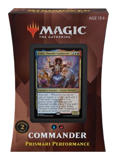 Strixhaven: School of Mages Commander Deck: Prismari Performance (ENG)