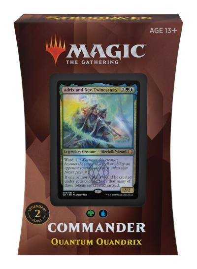 Strixhaven: School of Mages Commander Deck: Quantum Quandrix (ENG)