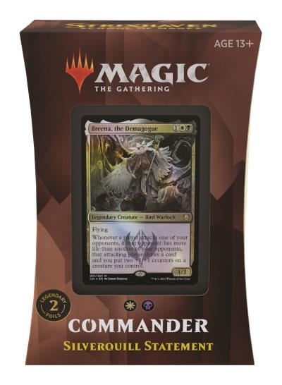 Strixhaven: School of Mages Commander Deck: Silverquill Statement (ENG)
