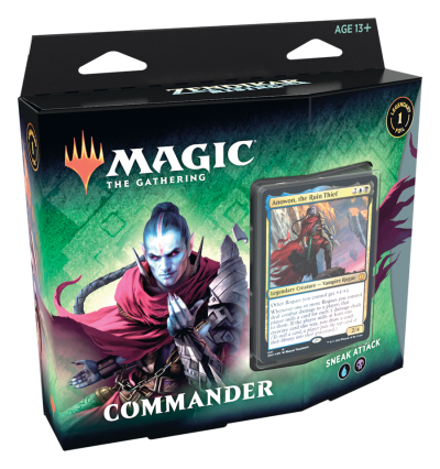 Zendikar Rising Commander Deck: Sneak Attack (ENG)